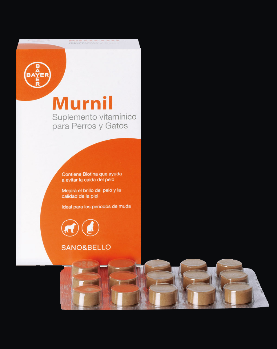 Murnil tabletas Complemento Vitamínico.